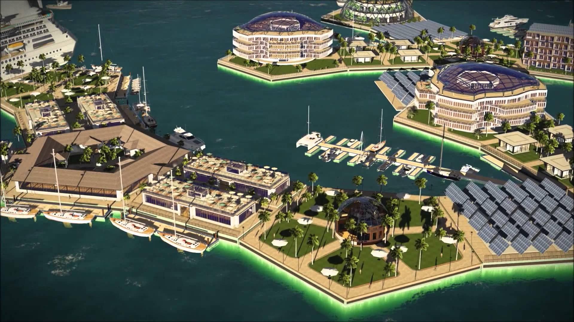 Nezávislé plovoucí mořské město projektu Seasteading Institute již získalo finální podobu